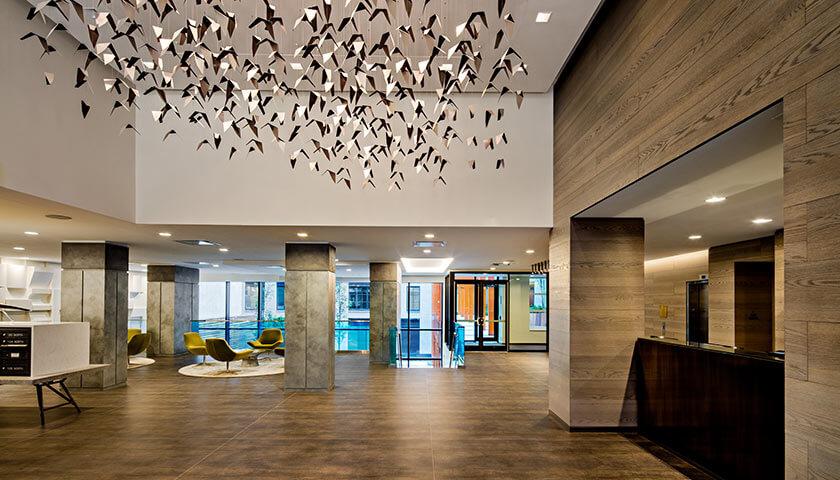 silverback development, silverback real estate, 535 west 43rd, lobby