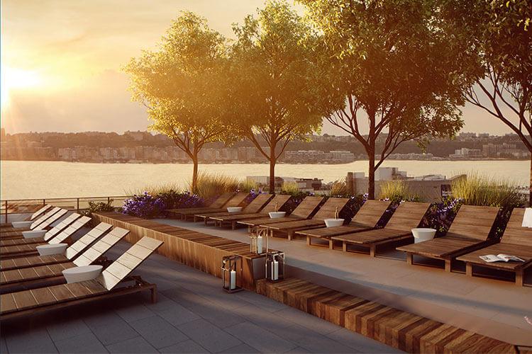 silverback development, silverback real estate, 535 west 43rd deck